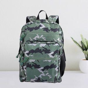 """Pep Rally Backpack Camo 15"""" Travel Bookbag"""
